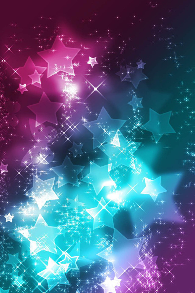 3d Wallpaper Parallax Free Bright Shining Stars Iphone 6 6 Plus And Iphone 5 4