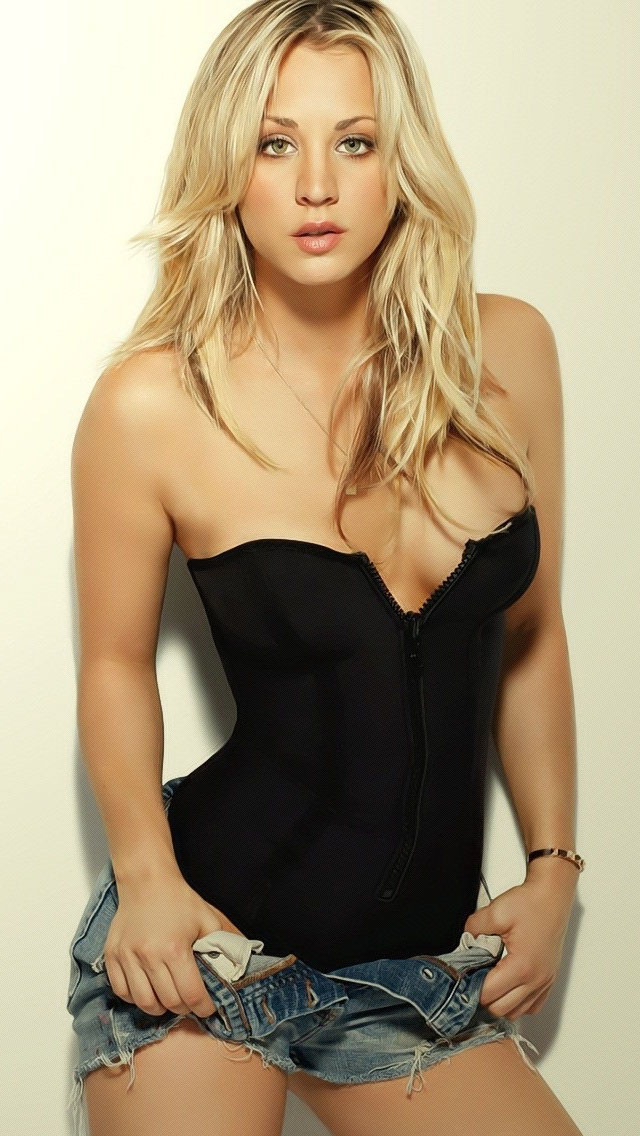 Quotes Wallpaper For Iphone 5c Kaley Cuoco Blonde Iphone 6 6 Plus And Iphone 5 4 Wallpapers