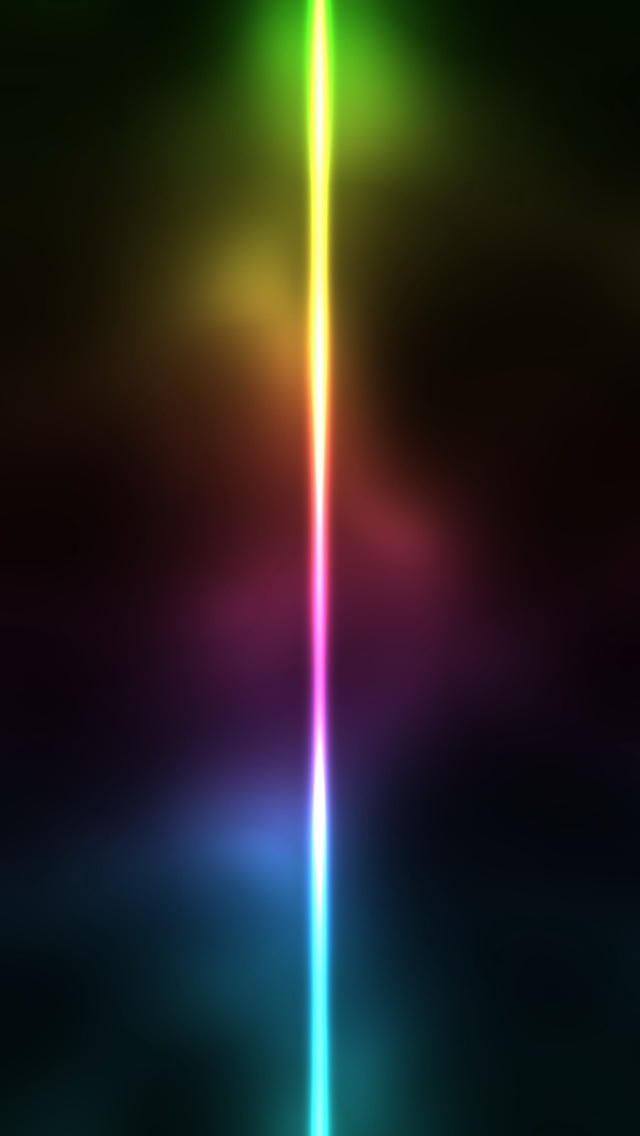 Apple Iphone 4s 3d Wallpapers Neon Light Line Iphone 6 6 Plus And Iphone 5 4 Wallpapers