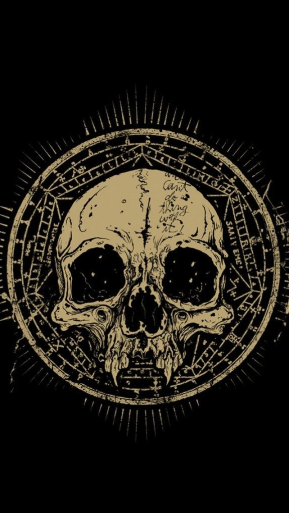 Danzig Wallpaper Hd Vintage Skull Symbol Wallpaper Free Iphone Wallpapers