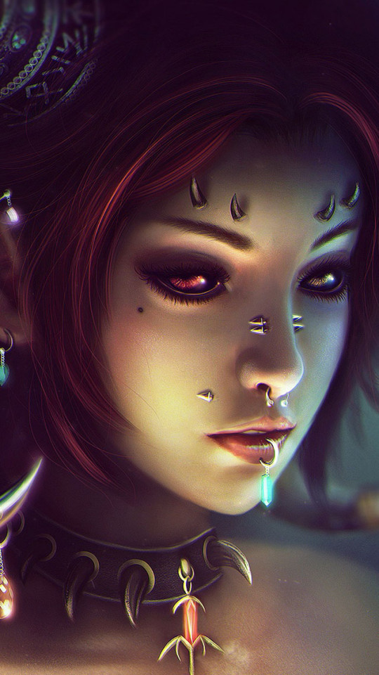 Cute Wallpapers For Iphone 5c Anime Female Demon Iphone 6 6 Plus And Iphone 5 4 Wallpapers