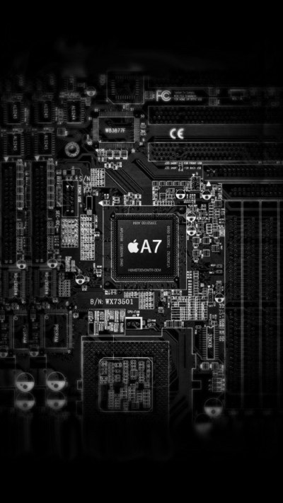 Apple A7 Inside Wallpaper - Free iPhone Wallpapers