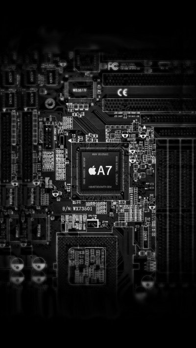 Apple A7 Inside Wallpaper - Free iPhone Wallpapers