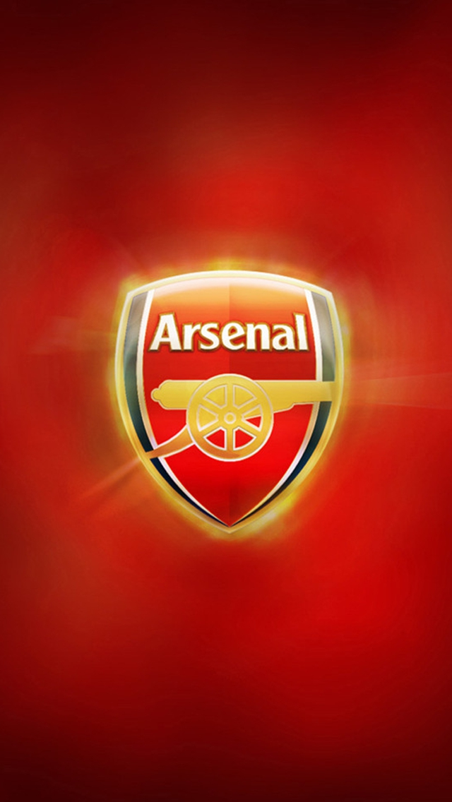 Arsenal Iphone Wallpaper Hd Arsenal Fc Logo Iphone 6 6 Plus And Iphone 5 4 Wallpapers