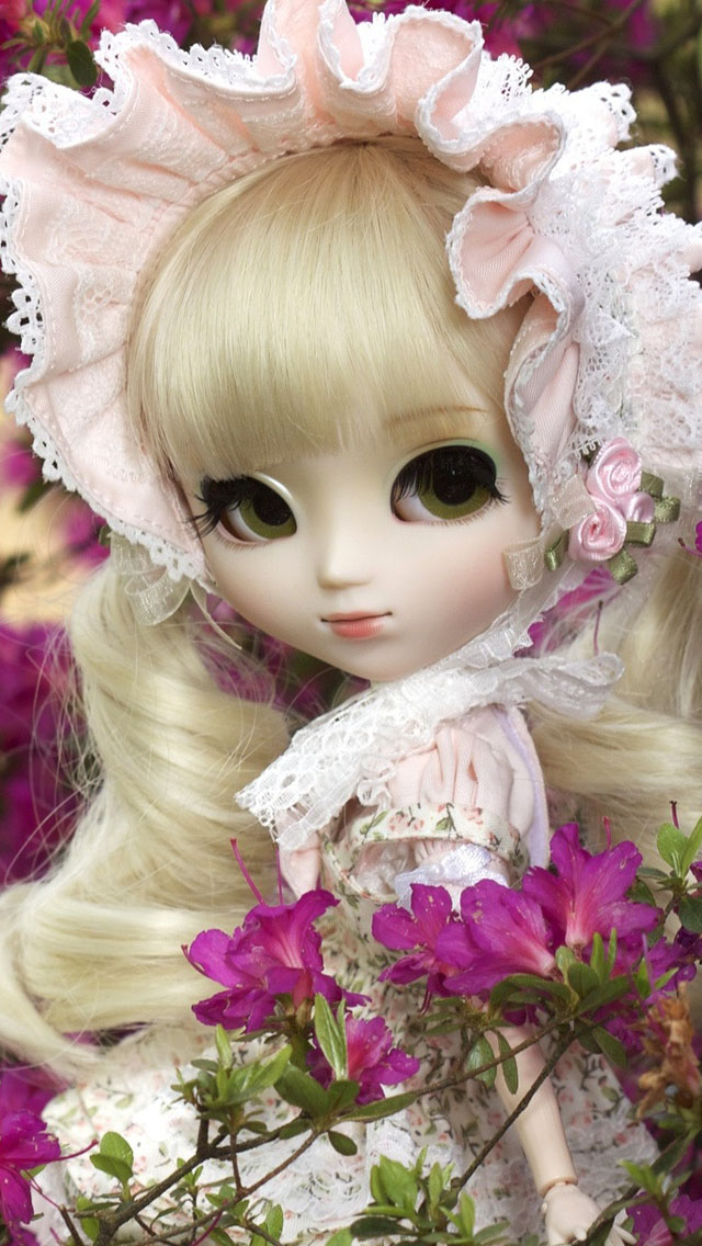 Cute Baby Girl Wallpaper For Desktop Cute Doll Girl Iphone 6 6 Plus And Iphone 5 4 Wallpapers