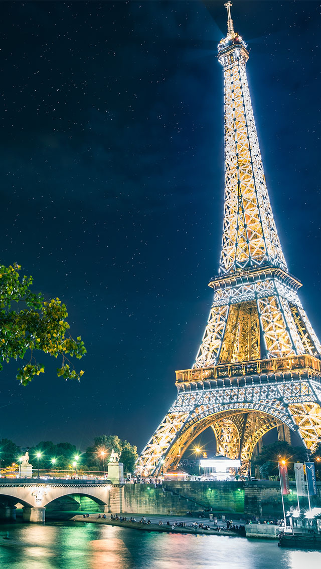 Cute Wallpapers Borders Magical Paris Iphone 6 6 Plus And Iphone 5 4 Wallpapers