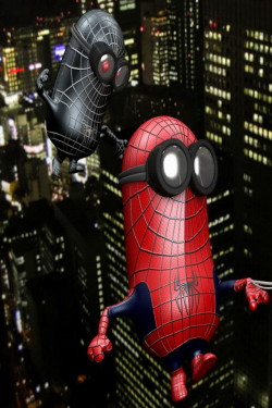 Minions Hd Wallpapers 1080p Spiderman Minions Wallpaper Free Iphone Wallpapers