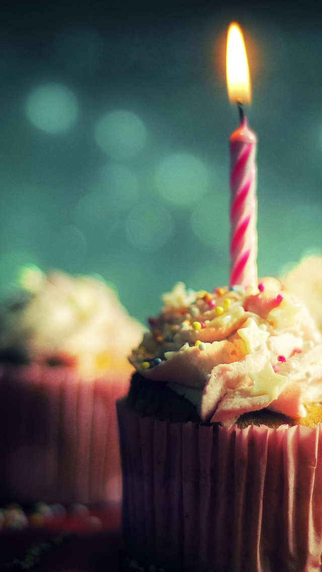 X Men Iphone Wallpaper Hd Cupcake With Candle Iphone 6 6 Plus And Iphone 5 4