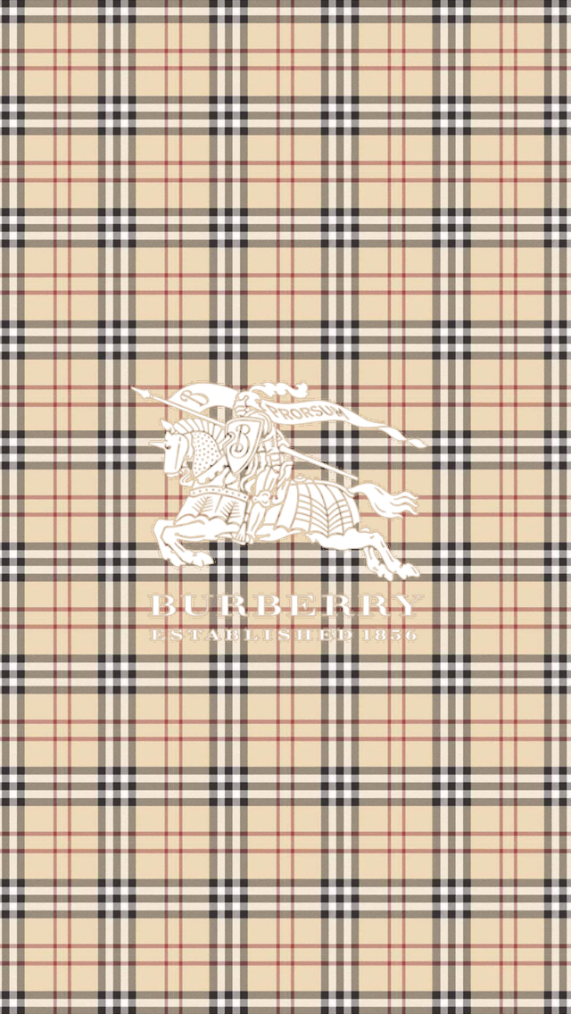 Apple Iphone 5s Wallpaper Hd Download Burberry Logo Amp Pattern Iphone 6 6 Plus And Iphone 5 4