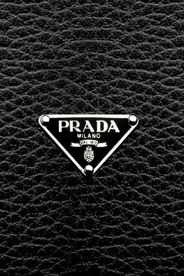 Prada Wallpaper Iphone Prada Logo Iphone 6 6 Plus And Iphone 5 4 Wallpapers