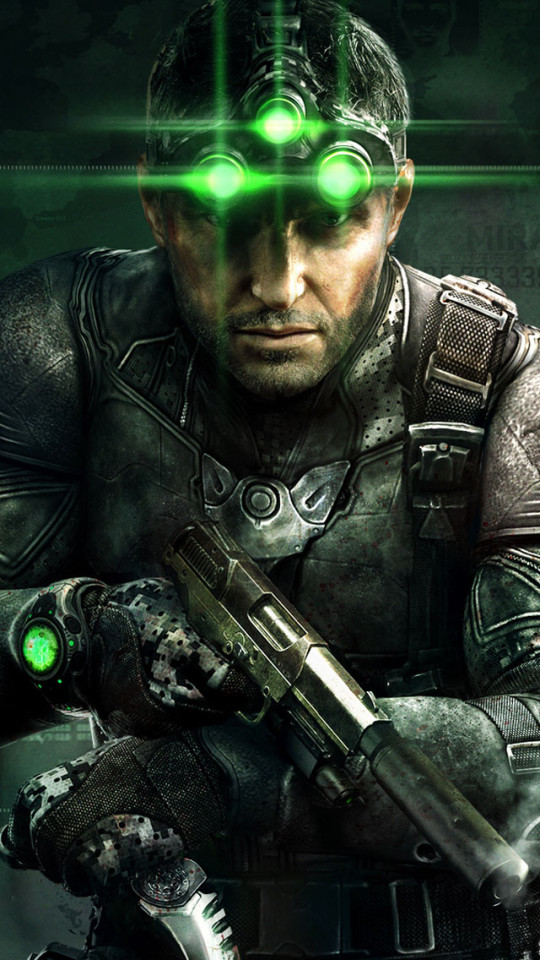 Cute Girly Wallpapers For Iphone 6 Plus Sam Fisher Tom Clancy S Splinter Cell Blacklist Wallpaper