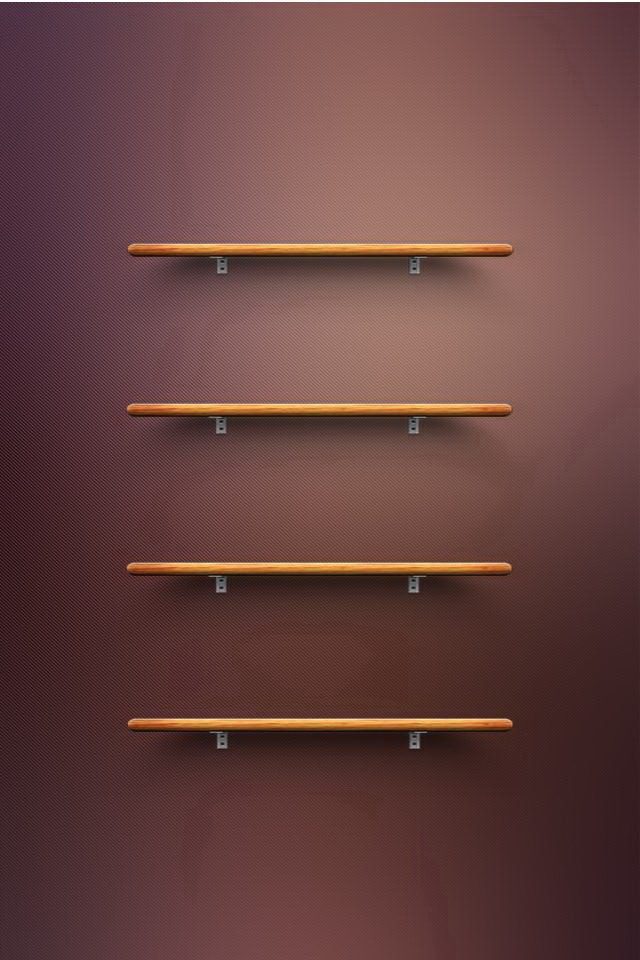 3d Parallax Wallpapers Androod Wooden Shelves Iphone 6 6 Plus And Iphone 5 4 Wallpapers