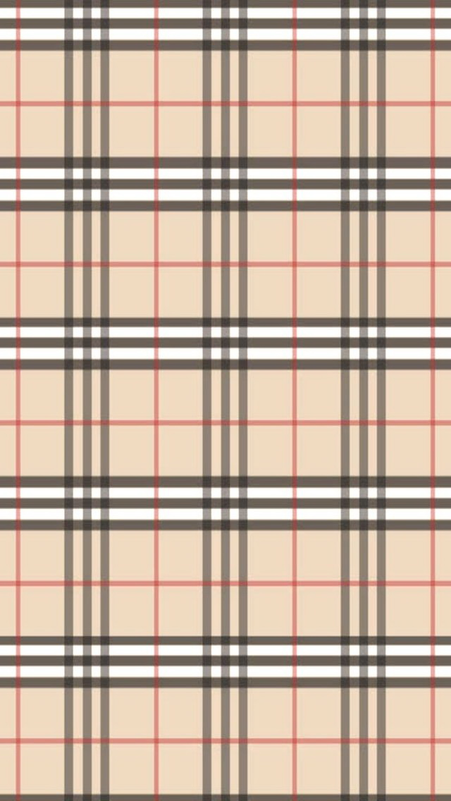 3d Wallpaper Parallax Free Burberry Pattern Iphone 6 6 Plus And Iphone 5 4 Wallpapers