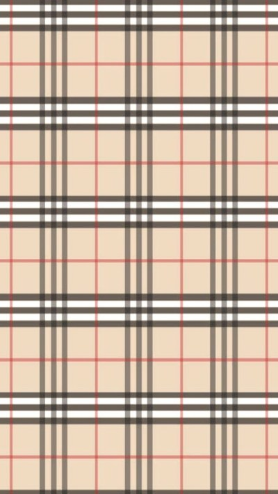 Burberry Pattern iPhone 6 / 6 Plus and iPhone 5/4 Wallpapers