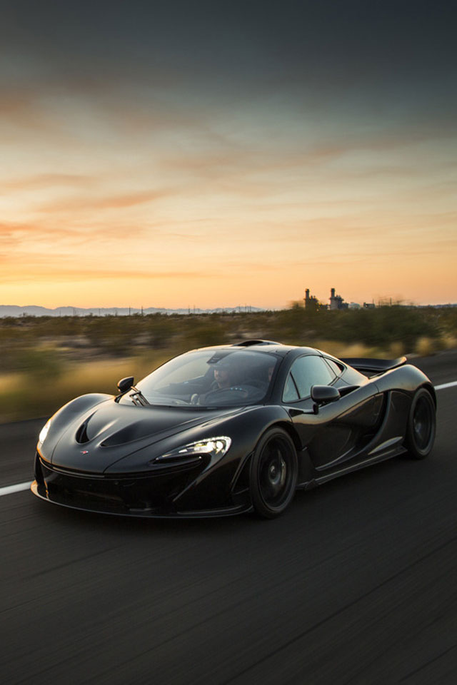 3d Parallax Background Wallpaper Free Download Mclaren P1 Front Black Iphone 6 6 Plus And Iphone 5 4