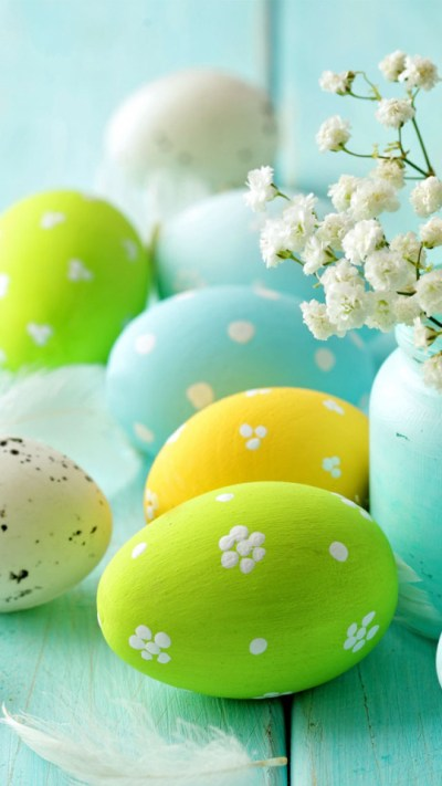 Easter Day Eggs Wallpaper - Free iPhone Wallpapers