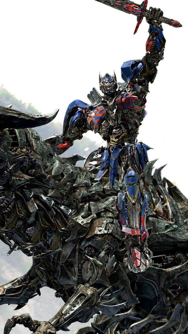 V Letter 3d Wallpaper Optimus Prime Riding Grimlock Iphone 6 6 Plus And Iphone