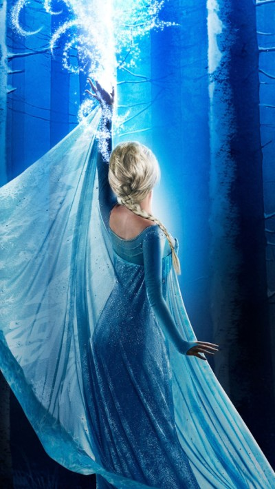 Elsa in Once Upon a Time Season 4 iPhone 6 / 6 Plus and iPhone 5/4 Wallpapers