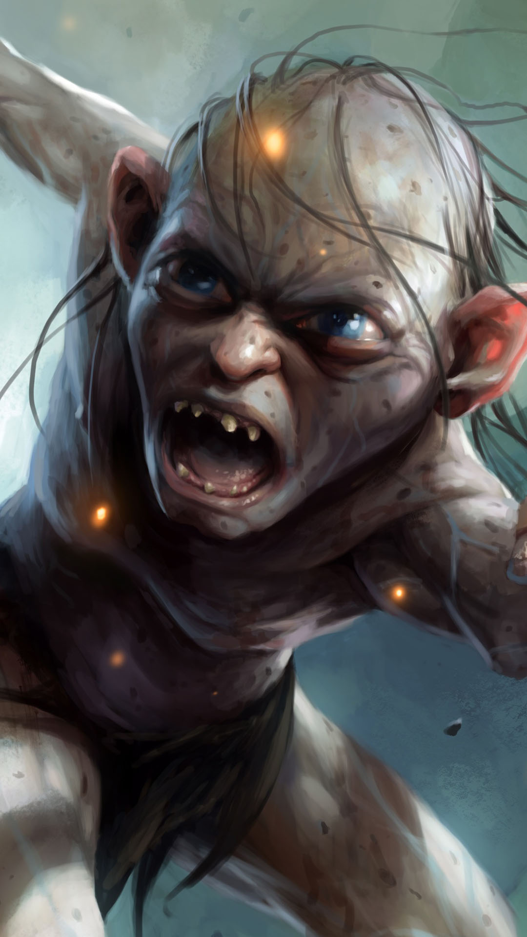 Minion Girl Wallpaper Gollum The Hobbit Iphone 6 6 Plus And Iphone 5 4 Wallpapers