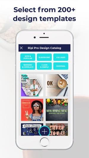 Ripl Make Eye-catching Videos iPhone App Review