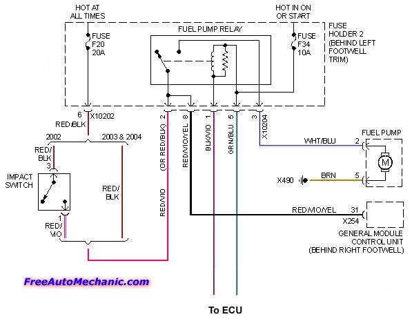 mini cooper start wiring diagram