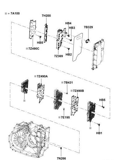 02 ford taurus transmission diagram