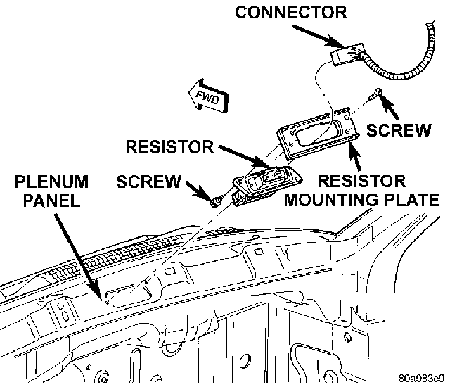 2006 dodge durango blower motor resistor wiring diagram