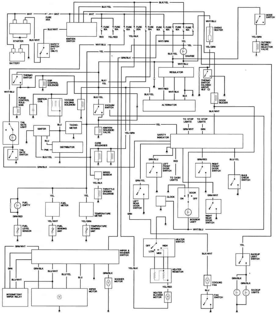 honda cbr1100xx super blackbird wiring diagram