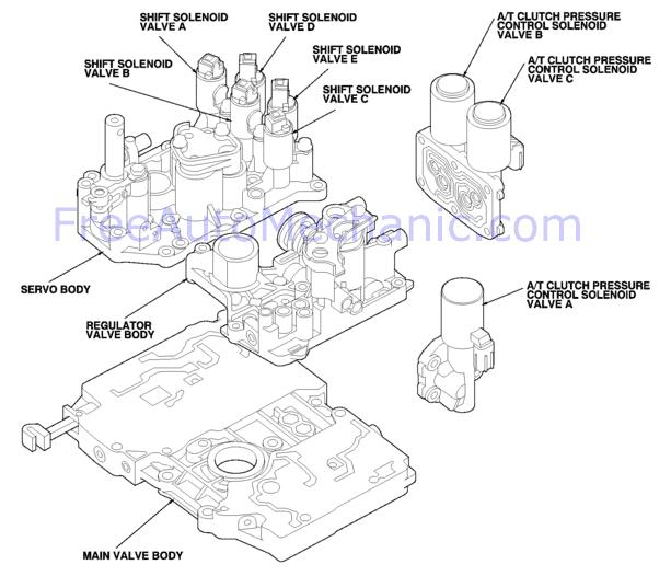 honda odyssey engine schematics