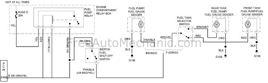 Ford Fuel Tank Selector Switch Wiring Diagram - Wwwcaseistore \u2022