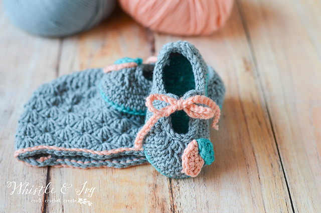 Crochet Petal Princess Baby Set Hat And Shoes Free Baby