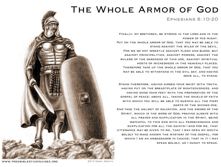Helmet Of Salvation Armor Of God Gt Free Bible Study Guides