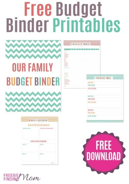 FREE Printable Budget Binder Organize Your Family Budget