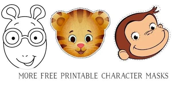 73 FREE Printable Masks for Kids