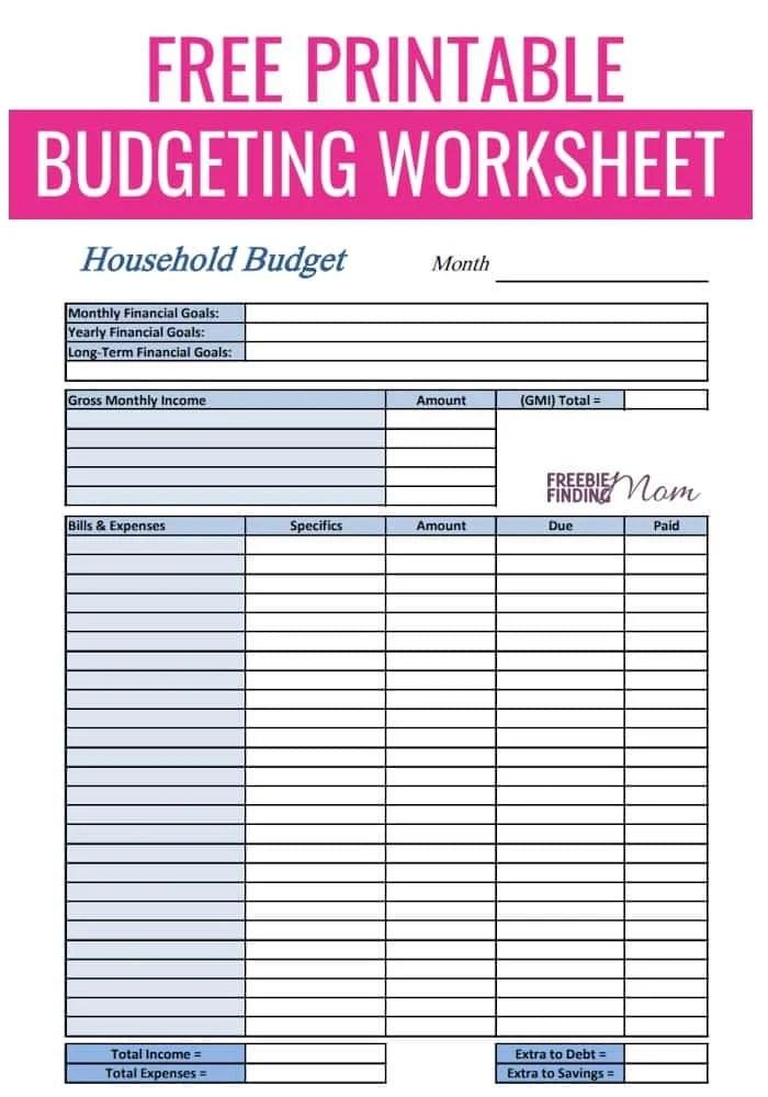 online free budget tracker - Canasbergdorfbib