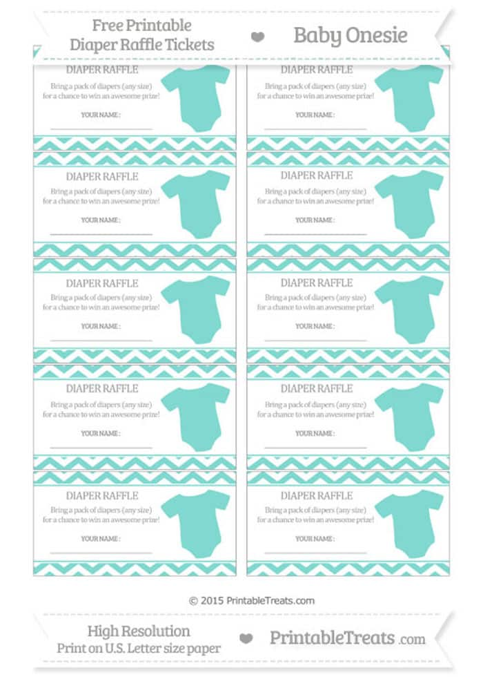 10 Free Printable Diaper Raffle Tickets - Page 2 - free printable tickets