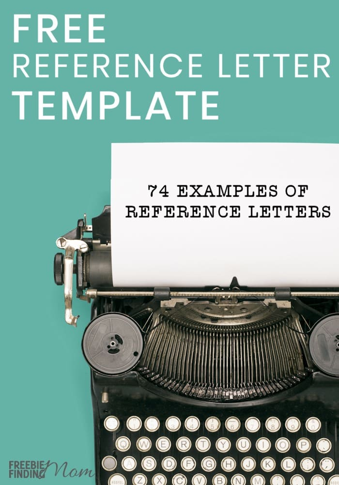 Free Reference Letter Template 74 Examples of Reference Letters - free reference letter