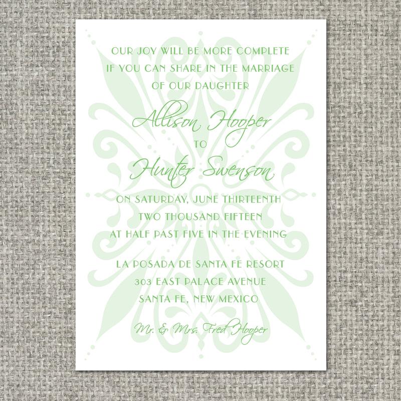 template invitation designs - freebird paperie graphic design