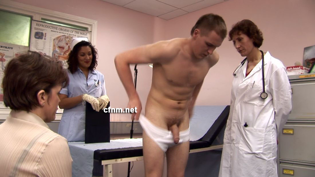 Doctor Examining Male Patients Penis