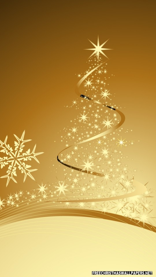 Xmas Wallpaper Iphone Golden Christmas Wallpaper Freechristmaswallpapers Net