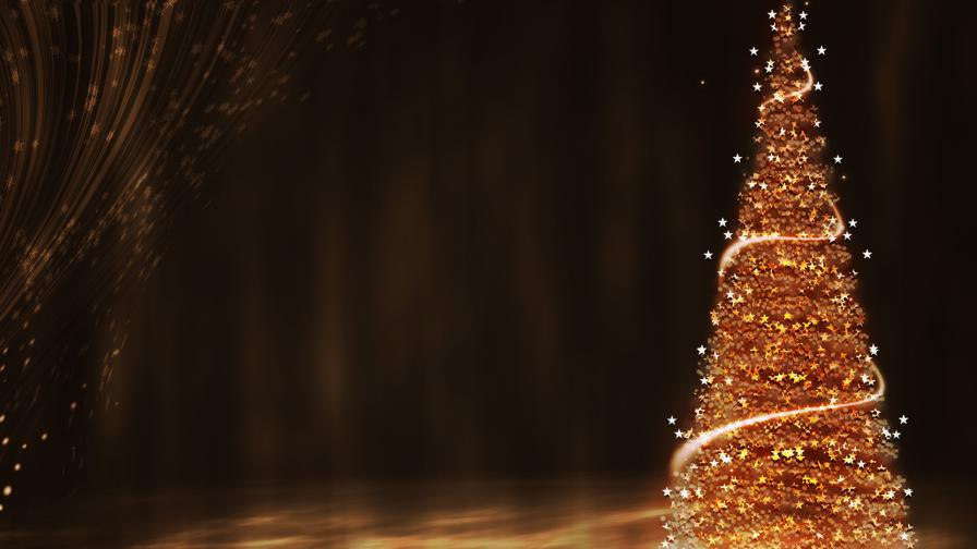 Download Cute Wallpaper For Mobile Phone Gold Christmas Tree Wallpaper Freechristmaswallpapers Net