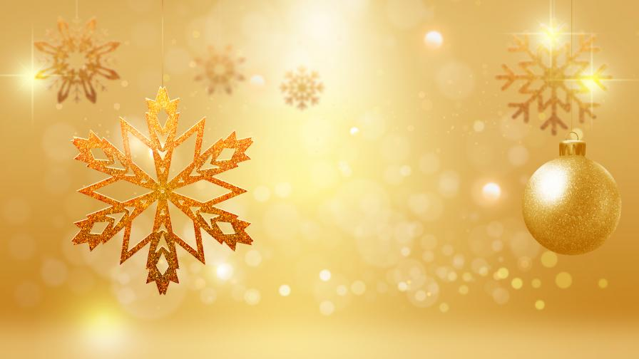 New Wallpaper For Iphone 5s Goldy Christmas Ornaments Wallpaper