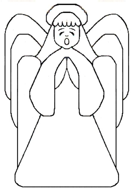 Free Angel Template 1 - angels templates free