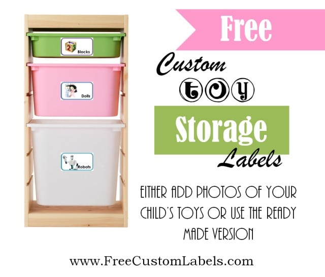 Toy Bin Labels Create Toy Labels with Photos and Print at Home