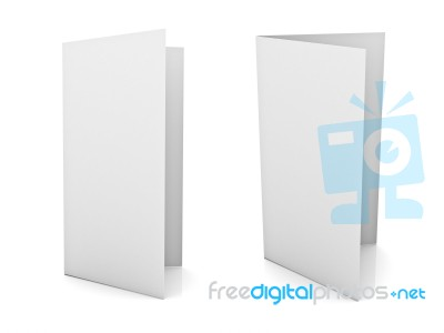 Blank Brochure Stock Image - Royalty Free Image ID 10057923
