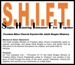 S.H.I.F.T. Adult Single's Ministry Get Together Every Saturday! @ Vander Haunted Trail   Roseboro   North Carolina   United States