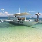 Docked at Pandanon Island