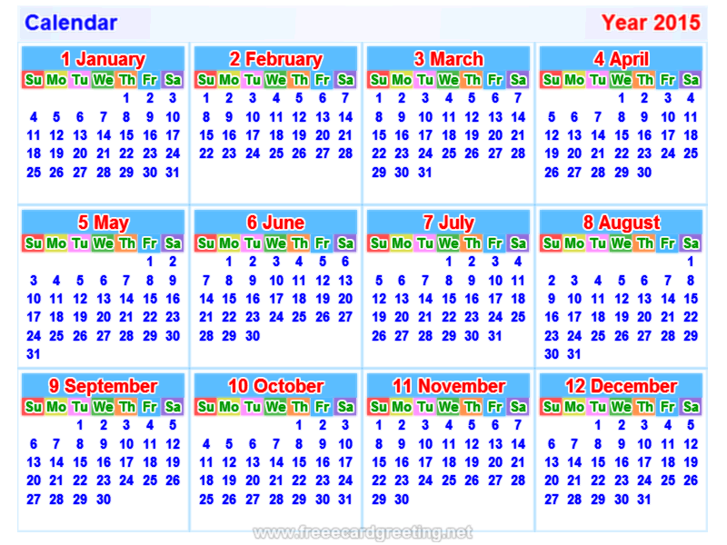 Calender 2015 Holdays  Calendar2015 Calendar 2016 And Making Calendar