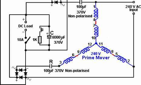 How To Build A Rotoverter Generator - Free Energy Devices
