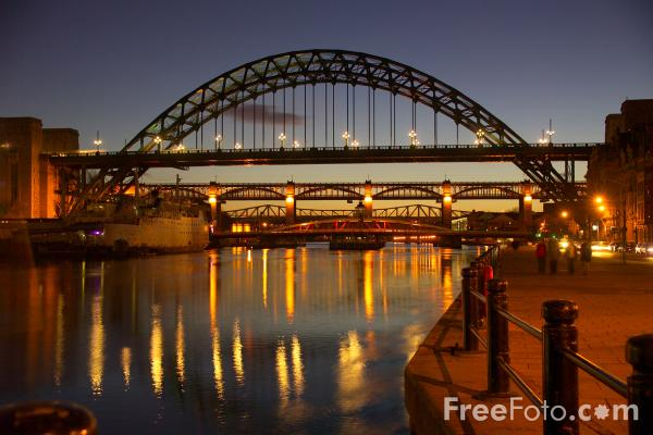 Night King Hd Wallpaper Tyne Bridge Newcastle Upon Tyne At Night Pictures Free